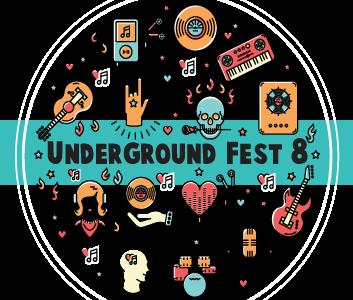 Underground Fest 9 Logo