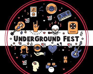 Underground Fest - Rimouski Logo